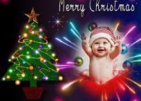 10 Diseños de Bordes con árbol de Navidad
