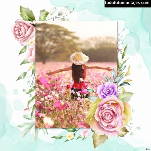 fotomontajes flores