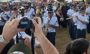 Demonstracao Banda da Força Aérea