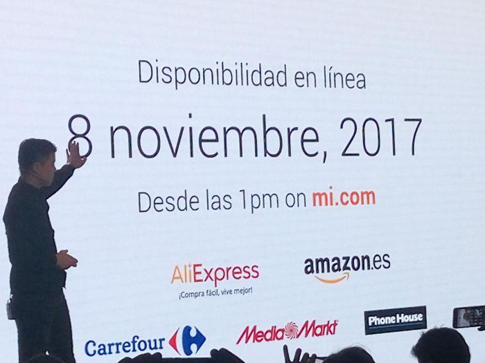 Xiaomi abre sus tiendas en España
