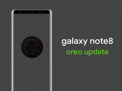 Samsung actualizará a Oreo el Galaxy Note 8, S7 y A3 a finales de Marzo.