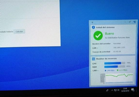 Monitor de recursos GigaGate