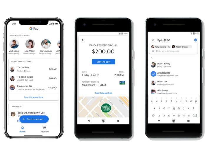 Google Pay-enviar dinero