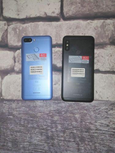 Diseño Xiaomi Mi A2 Lite y Redmi 6