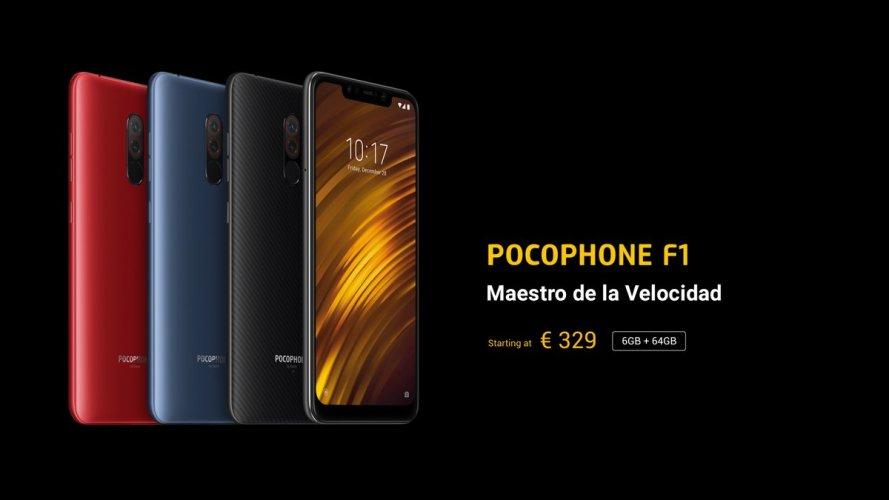 precio Pocophone F1