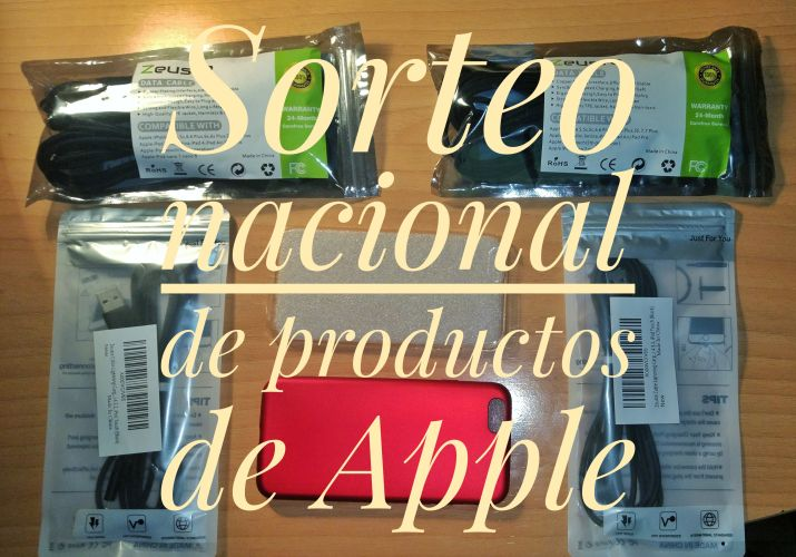 Sorteo nacional de productos de Apple
