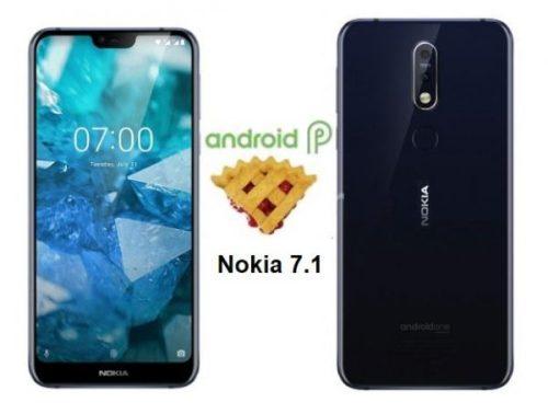 El Nokia 7.1 ya comienza a percibir Android 9 Pie