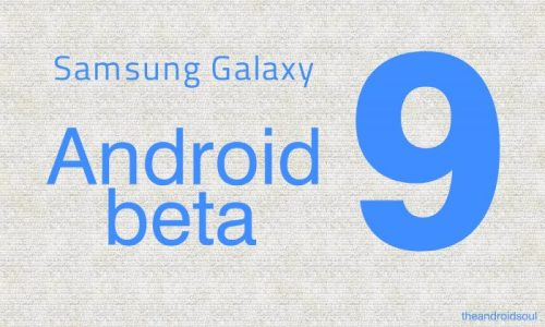 Samsung S9 recibe la Beta de Android 9