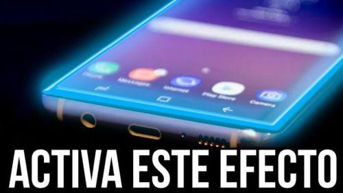 Activa este curioso efecto de luces en tu smartphone