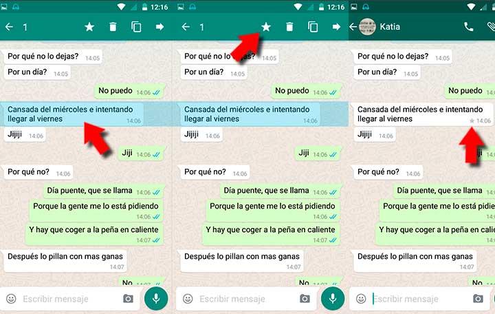 8 trucos para WhatsApp-destacar mensajes