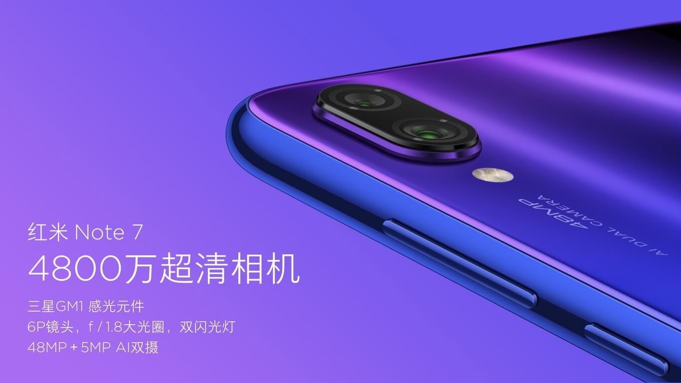 Xiaomi Redmi Note 7-especificaciones