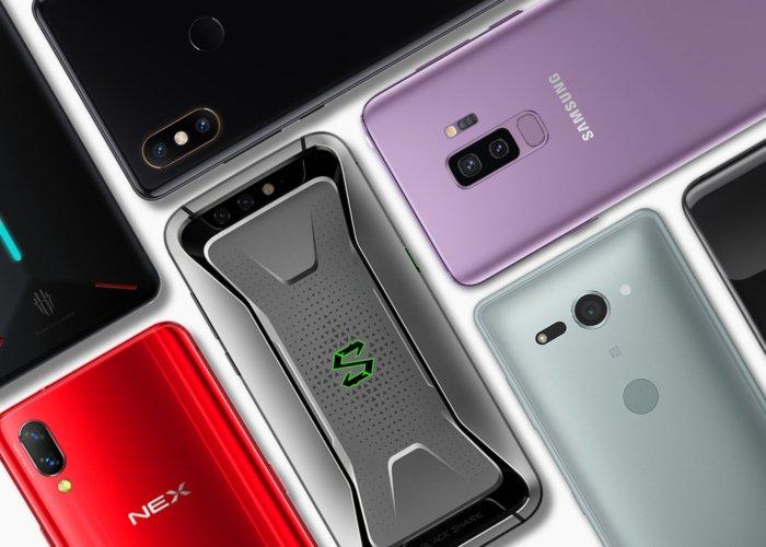 Los 10 terminales más potentes de Android