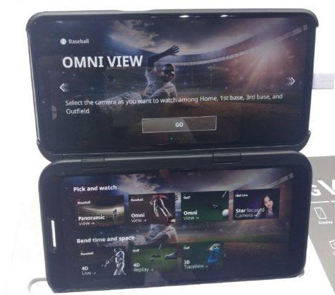 LG V50 ThinQ Dual Screen MWC 2019
