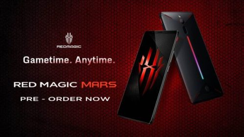 Nubia Red Magic Mars: pre-venta disponible en EEUU, Canadá y Europa