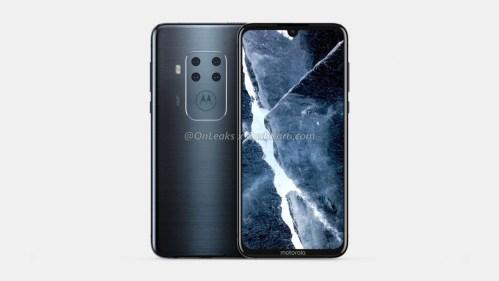 Motorola con cuatro cámaras se ha filtrado, y no pinta nada mal