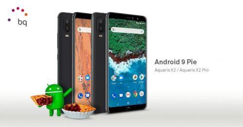 Android 9 Pie ya disponible para los BQ Aquaris X2 y X2 Pro