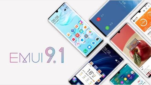 EMUI 9.1 viene con grandes mejoras para los dispositivos de Huawei