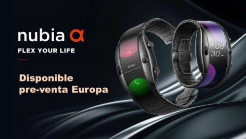 El Nubia Alpha ya está disponible en Europa por pre-venta, te contamos