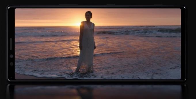 Sony Xperia 1 Pantalla HDR 4K características