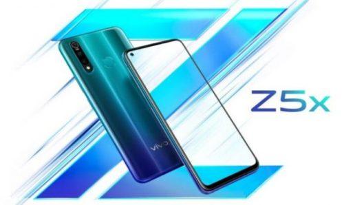 Vivo Z5x lanzado con agujero en pantalla y batería de 5000 mAh