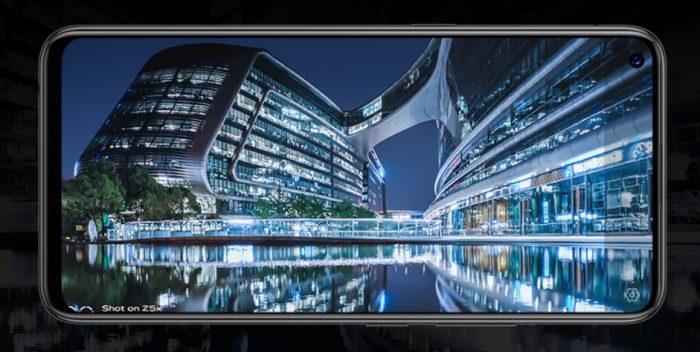 Vivo Z5x características pantalla cámara