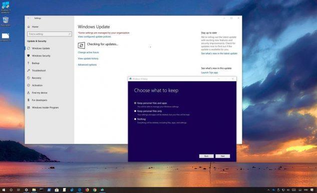 Windows 10 May 2019 Update Instalar actualización