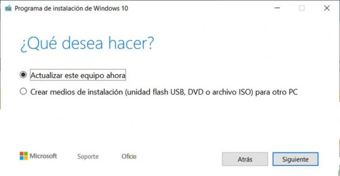 Windows 10 May 2019 Update Instalar actualización mayo