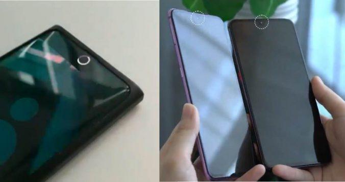 Cámaras frontales ocultas de Xiaomi y Oppo