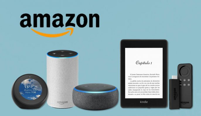 Dispositivos Amazon en oferta Echo Kindle Fite TV