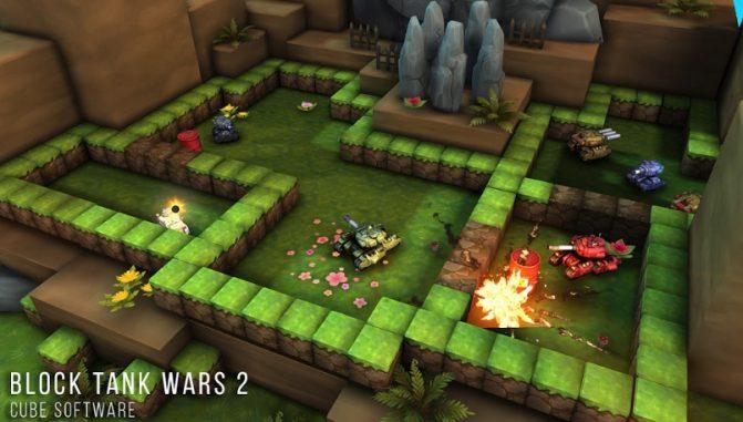 Juegos Android de pago gratis Block Tank Wars 2