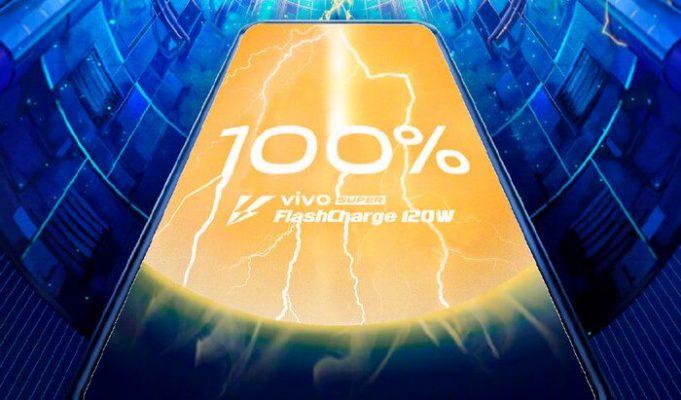 Super FlashCharge 120W carga rápida de Vivo