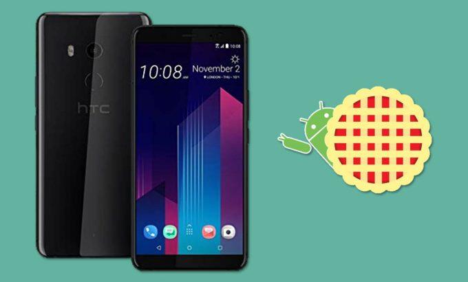 HTC U11+ actualización con Android 9 Pie