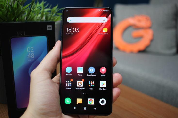 Mejores teléfonos con lectores de huellas Xiaomi Mi 9T