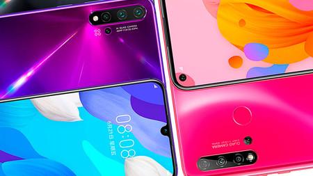 Huawei Nova 5 Series un éxito en China en su primer mes
