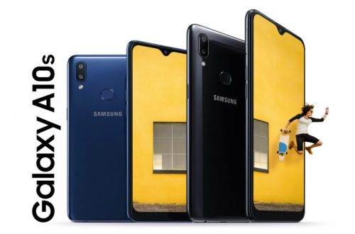 Samsung Galaxy A10s es oficial con doble cámara trasera y batería grande