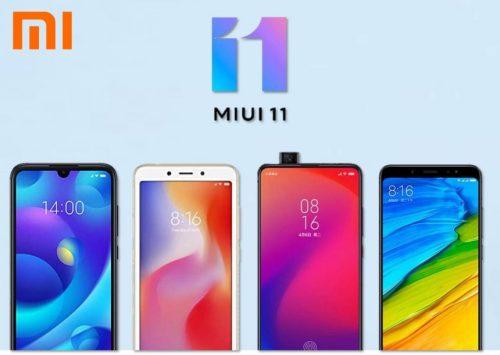 Estos son los teléfonos de Xiaomi con MIUI 11 confirmados