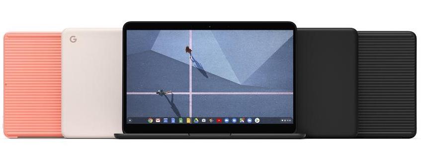 Google Pixelbook Go diseño
