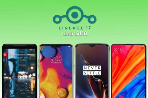 Estos móviles obtienen Android 10 gracias a LineageOS 17