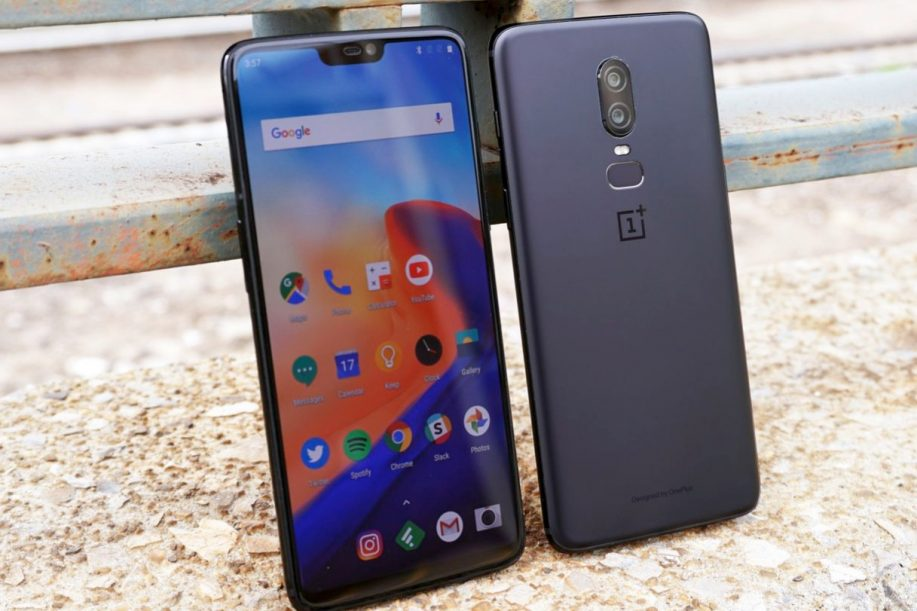 OnePlus 6 con Android 10