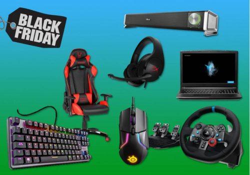 Los mejores accesorios gaming en ofertas durante el Black Friday