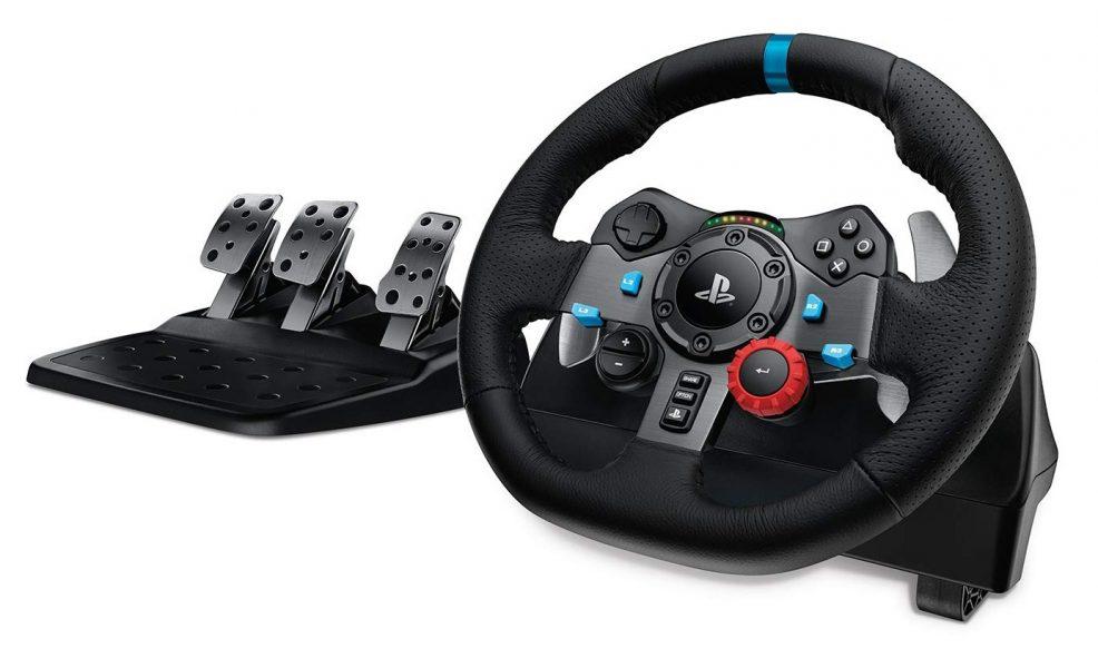 Accesorios gaming Black Friday volante para carreras