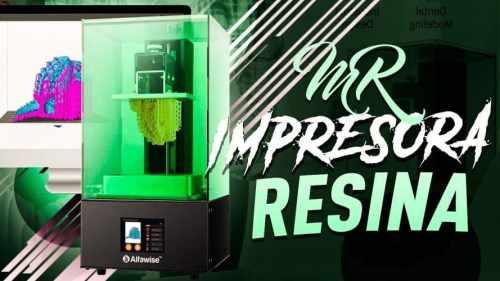Impresora 3D de resina Alfawise W10