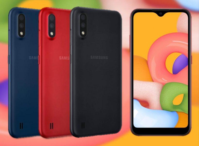 Samsung Galaxy A01 especificaciones y precios