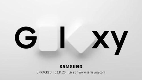 Presentación del Galaxy S20 y Galaxy Z Flip tendrá lugar en Unpacked 2020