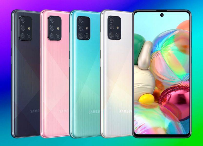 Samsung Galaxy A51 Europa Galaxy A71 características