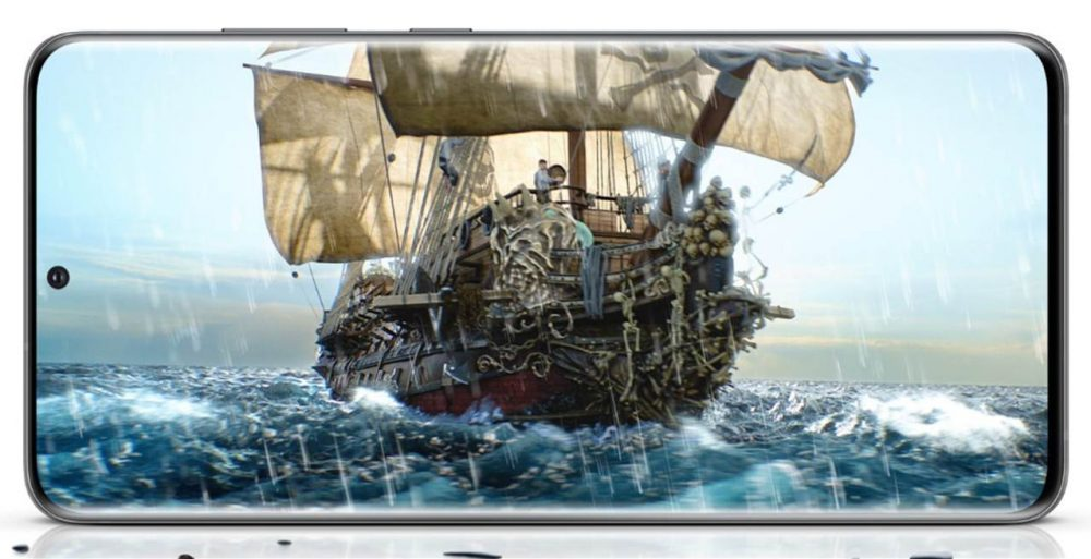 Samsung Galaxy S20 características pantalla