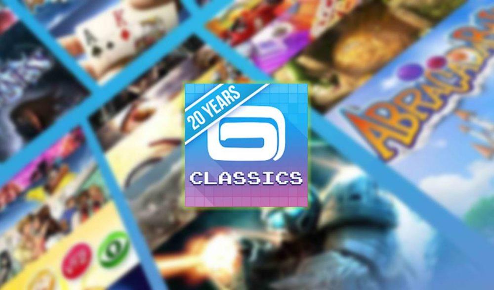 App Gameloft Classics 20 años Google Play Store