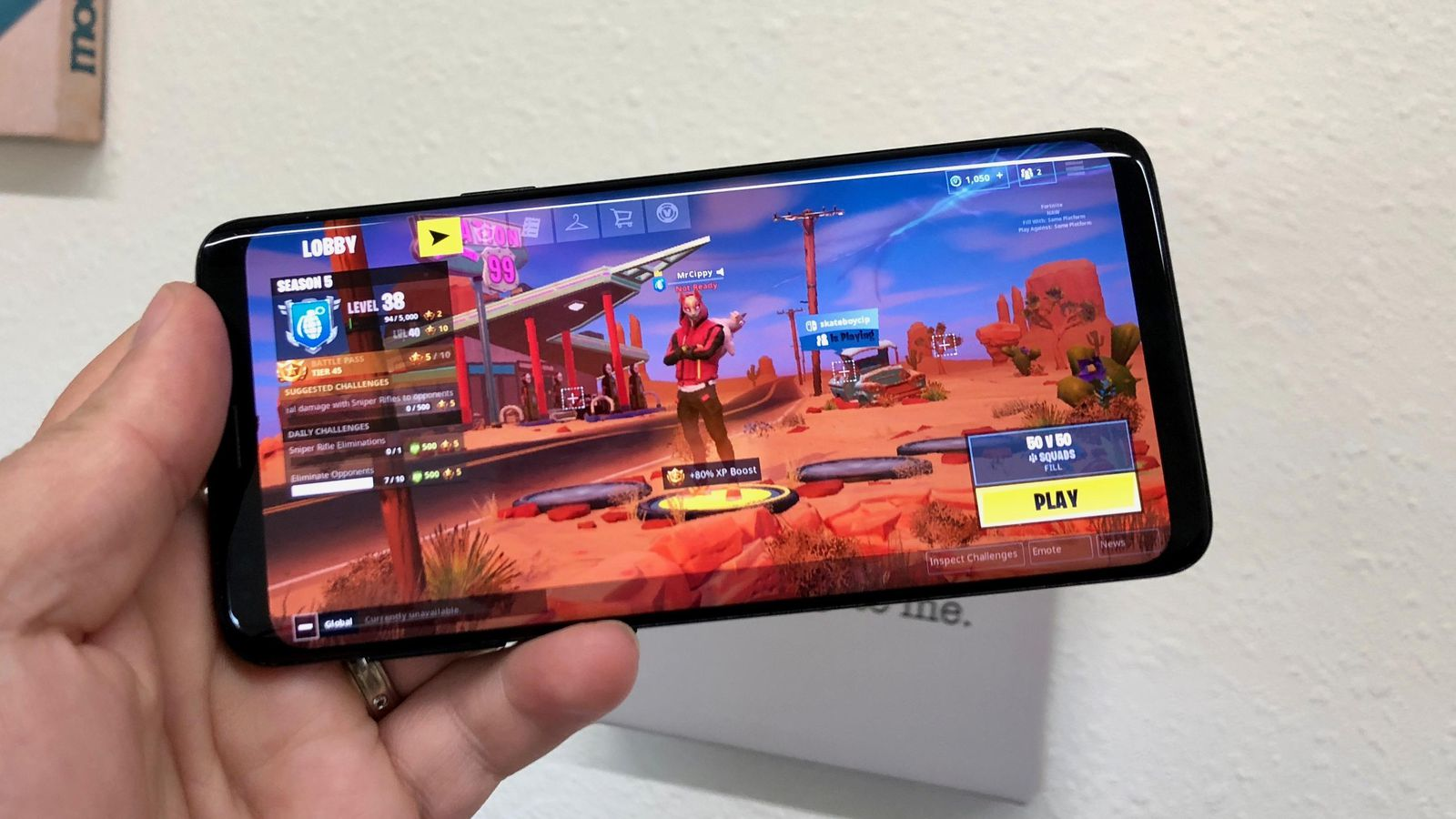Fornite en Play Store