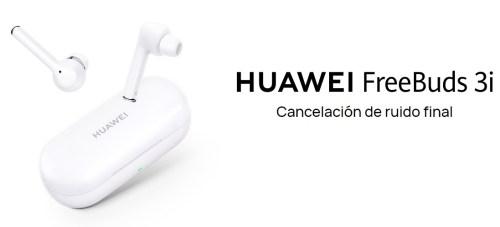 Nuevos auriculares Huawei FreeBuds 3i: características y precio