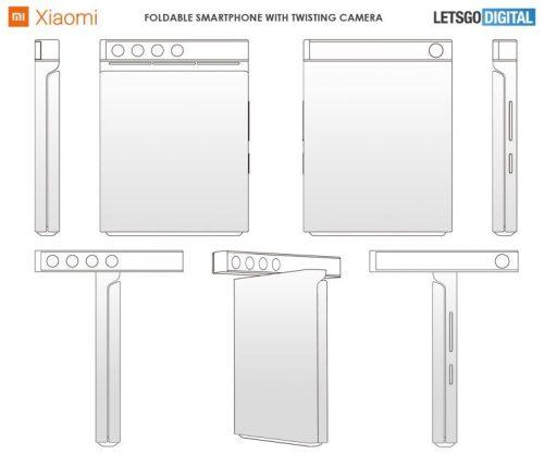 Lo nuevo de Xiaomi podría ser un móvil plegable con cámara giratoria